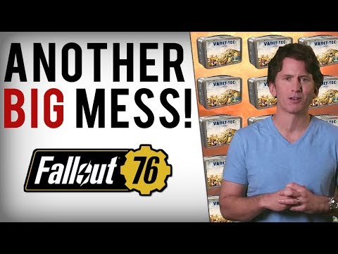 Bethesda's New Disaster - Fallout 76 Loot Box Footage Concern & Excessive Exploits Break Game! thumbnail