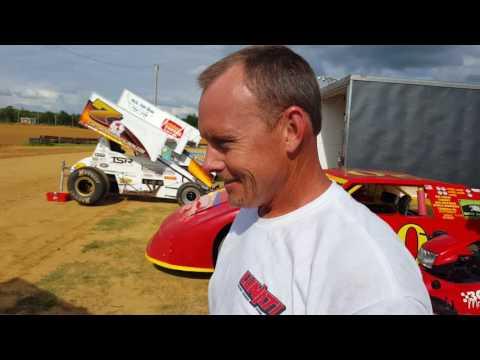 Lawson,severin interviews dixieland speedway