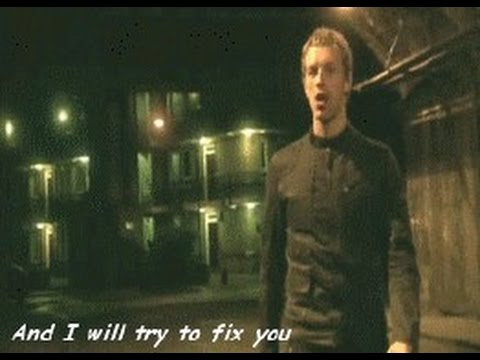 Coldplay Fix You Lyric And Chord Easy Youtube