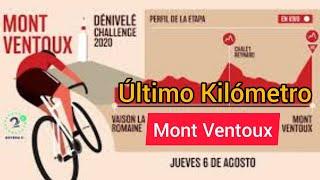 Último Kilómetro ? Mont Ventoux 2020 ? Tejada y Nairo hacen Podio