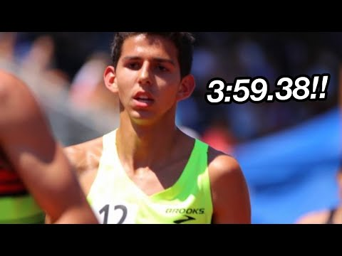 Grant Fisher Goes Sub-4 In High School!