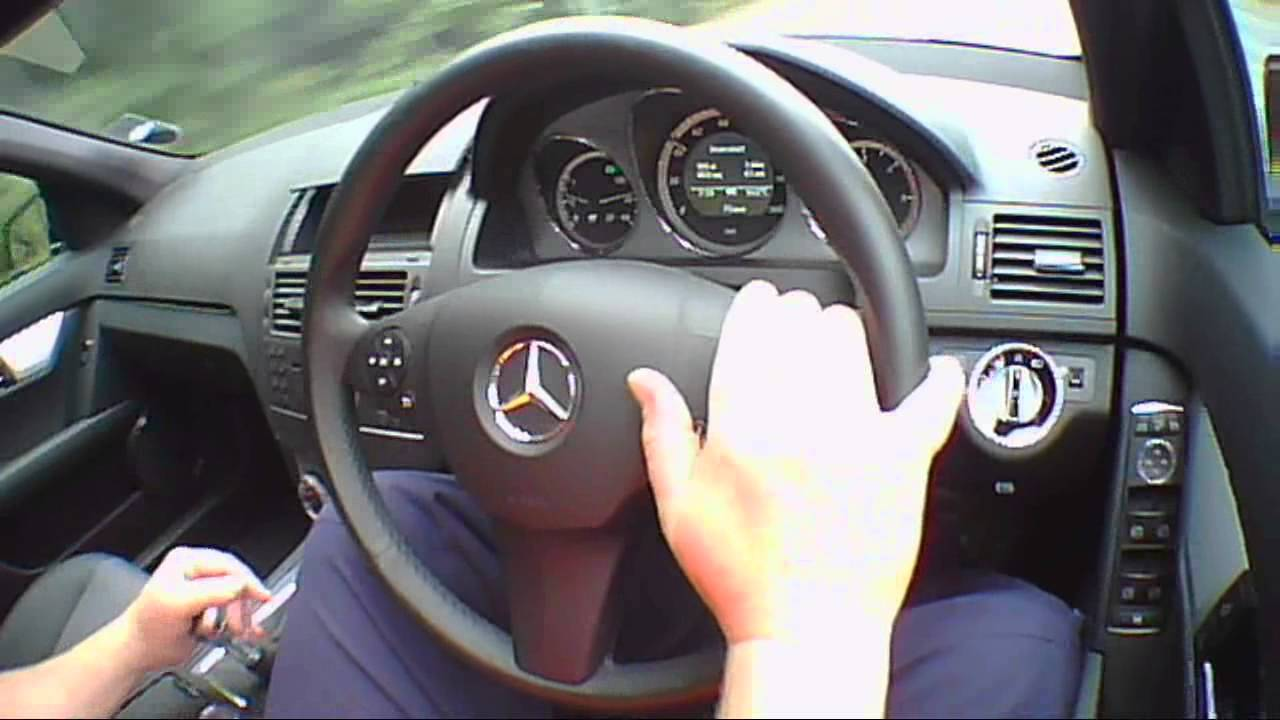 mercedes benz c class 2 2 2010 review road test test drive youtube. Black Bedroom Furniture Sets. Home Design Ideas