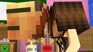 Minecraft Daycare - KISSING GOLDY !? (Minecraft Roleplay)