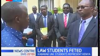 4 Kabarak University students feted in international law competition