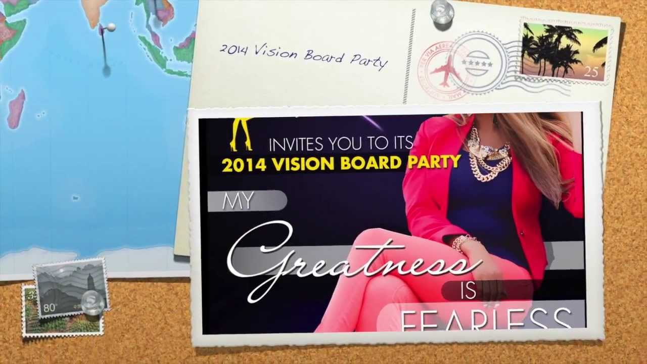 Greatness In You Inc 2014 Vision Board Party My Greatness is