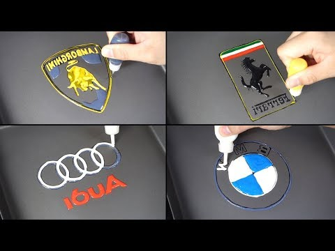 Car Logo Pancake Art - Lamborghini, Ferrari, Audi, BMW (The World's Most Expensive Pancake)