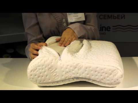 Ортопедическая подушка ТОП-104. Интернет-магазин Здоровый Сон