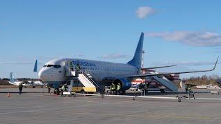 Boeing 737-800 ак Победа Рейс Москва - Петрозаводск
