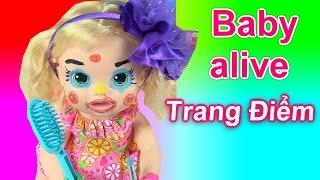 Trang Điểm Make Up Cho Baby Alive