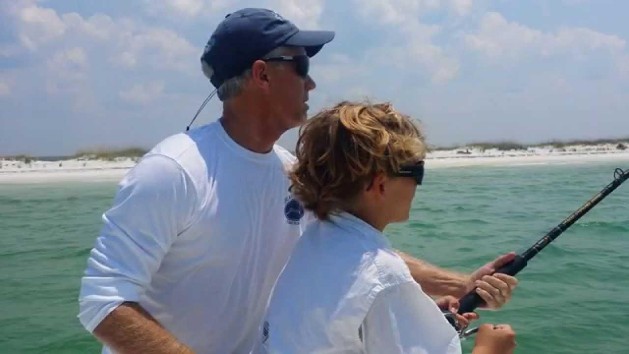 Shark fishing near panama city beach with captain bucky for Shark fishing panama city beach