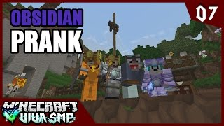 Download Video Obsidian Prank! ~ Minecraft Viva SMP ep.7 MP3 3GP MP4