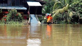 154 dipindahkan akibat banjir