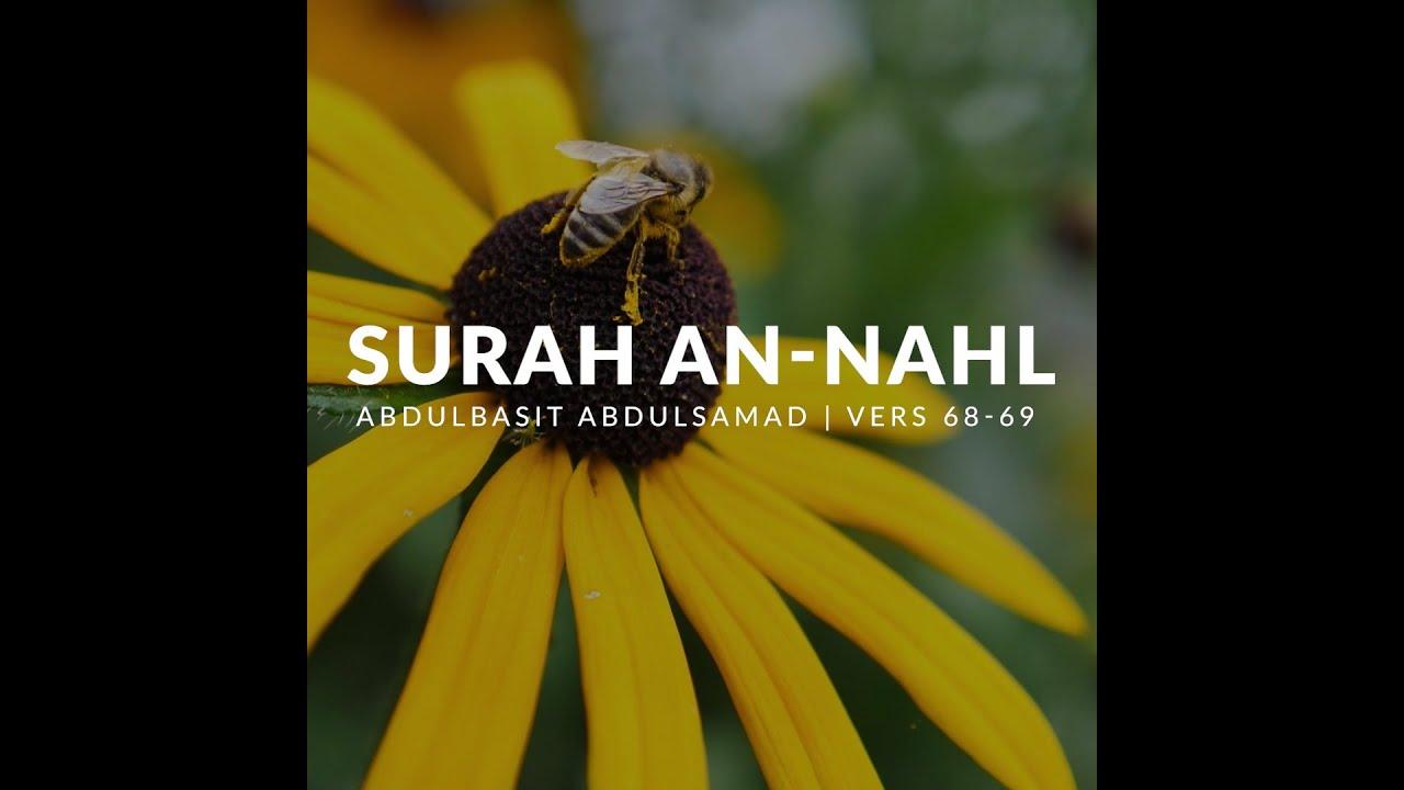 Surah An-Nahl [Verserna Om Honungsbiet] - Abdulbasit Abdulsamad