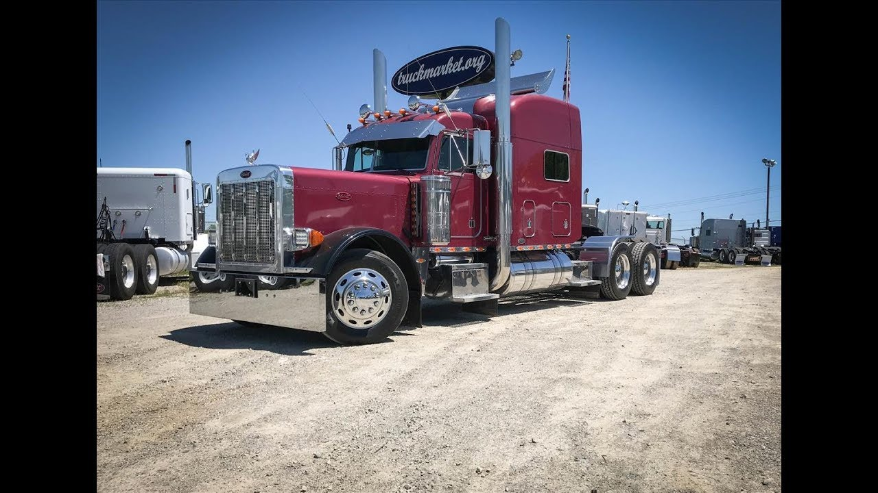 2001 Peterbilt 379 Exhd Tandem Axle Ultra Sleeper Youtube