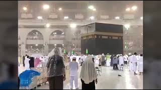 Makkah Beautiful View Heavy Rain kaaba Sharif