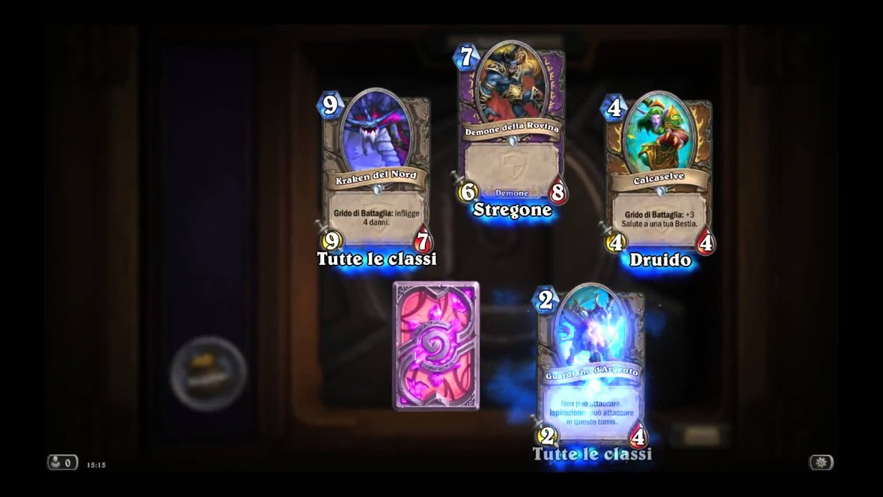 Hearthstone - Unboxing golden Justicar Trueheart - YouTube