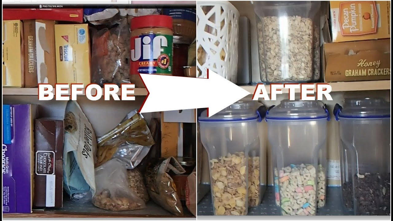 Naptime Organizer  Messy Kitchen Cabinet  YouTube