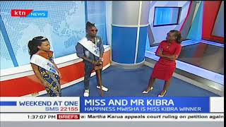 Daniel Owino and Happiness Mwisha win Mr. and Miss Kibra competition