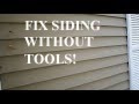 How To Remove Siding Without Tools Youtube