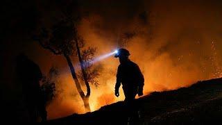 Dürre und Brandstiftung - die iberischen Feuer