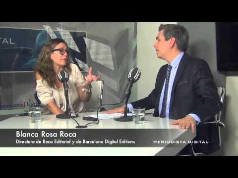 Blanca Rosa Roca, directora de Roca Editorial y de Barcelona Digital Editions. 17-6-2014