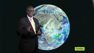 WEATHER FORECAST BY MAGYEZI AFRICANO UBC TV 17 01 2020