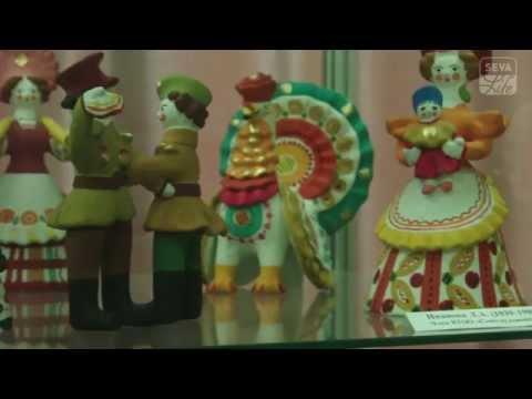 Национальные глиняные игрушки дымковская, филимоновская