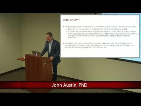 An Introduction to Organizational Behavior Management