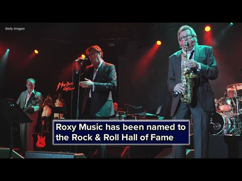 Roxy Music joining the class of 2019 in the Rock & Roll Hall of Fame