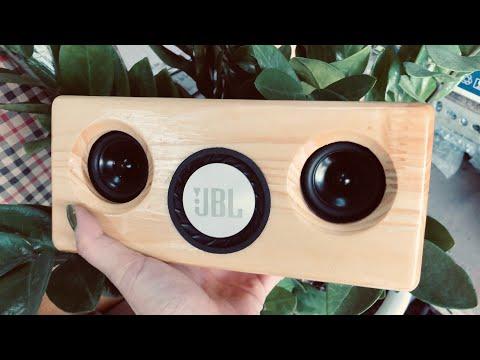 DIY Wooden Bluetooth speaker 15W