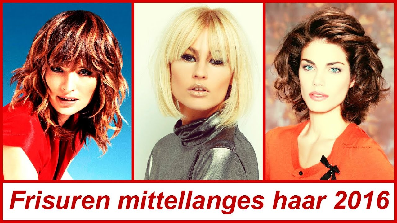 Frisuren Mittellanges Haar 2016 YouTube
