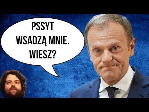 Donald Tusk Boi się WIĘZIENIA i Szkaluje Polskę i PIS w Unii UE - Komentator