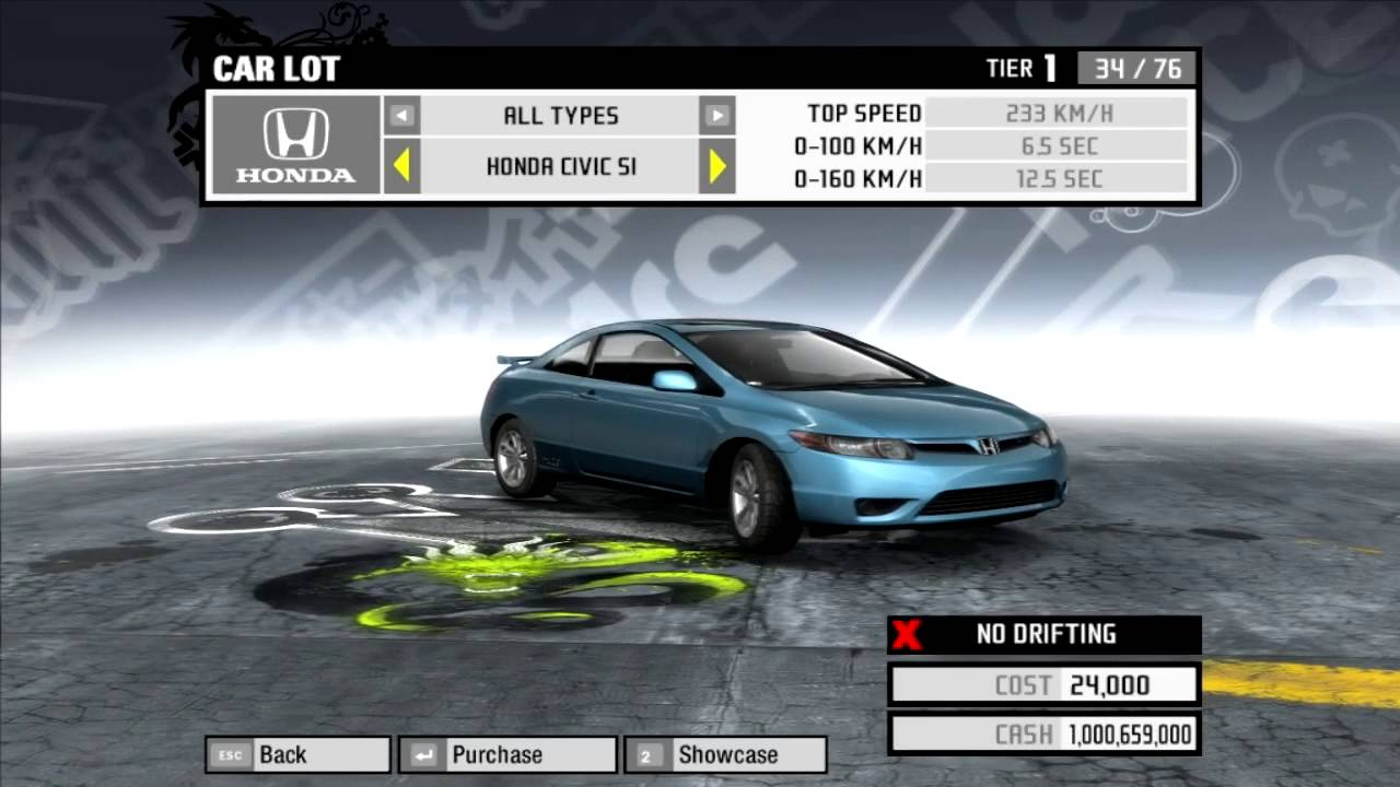 Need for speed pro street all official bonus cars hd