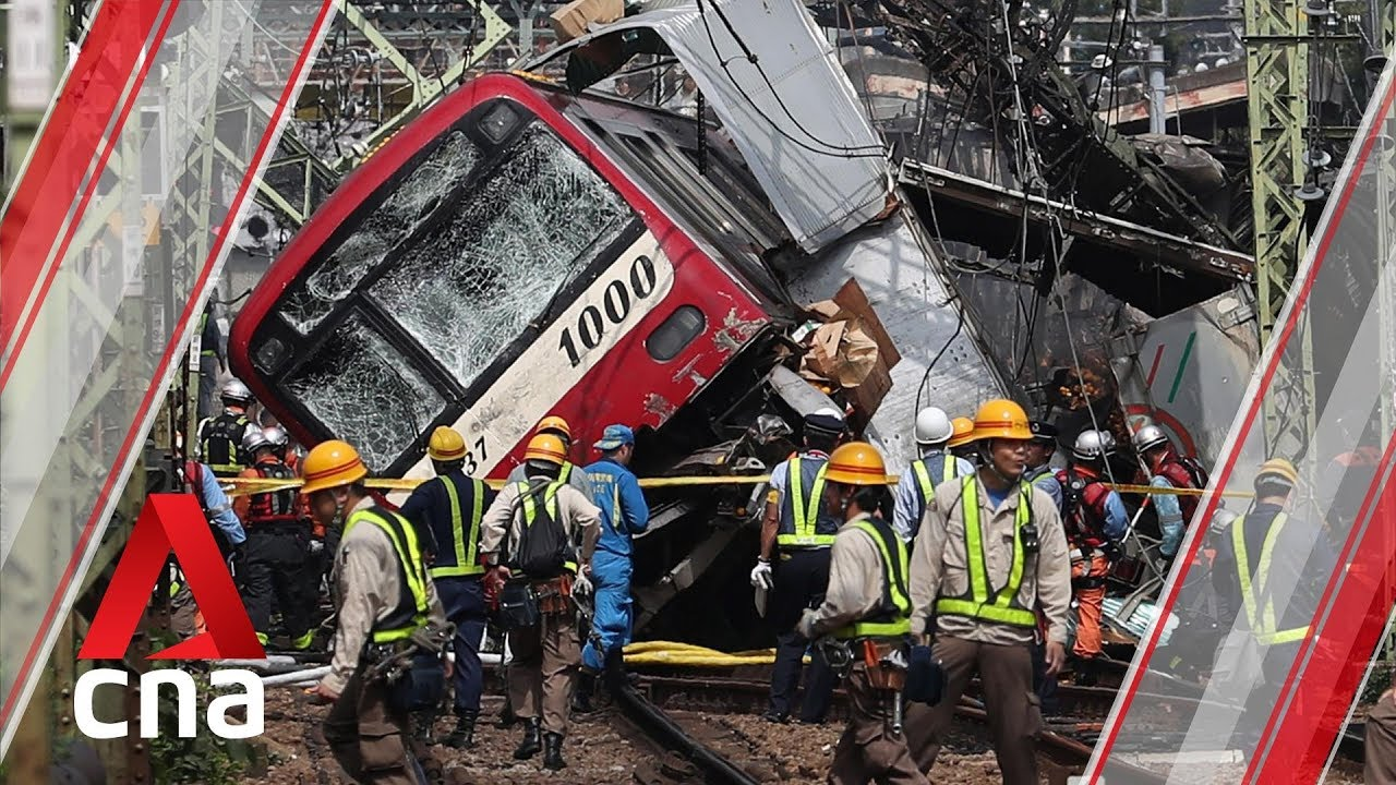 1 dead, more than 30 injured after train and truck collide