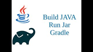 build JAVA project and create JAR file using Gradle