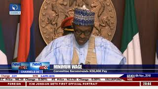 Tripartite Committee Proposes N30,000 Minimum Wage, Submits Report To Buhari