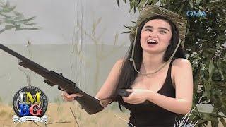 'Bubble Gang' Bloopers: Walang siraan ng baril, Kim!