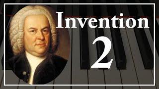 【Bach】Invention 2 |インベンション第2番-バッハBWV773