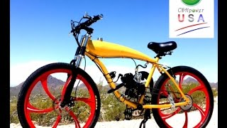 2-STROKE MOTORIZED BIKES AND GAS BIKES BY CDH POWER USA