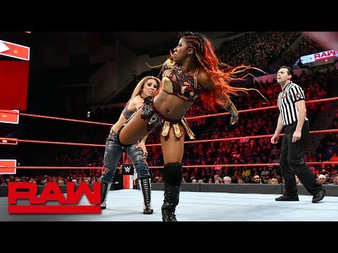 Ember Moon vs. Mickie James: Raw, April 16, 2018