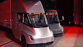 Tesla Semi 2020 The Quickest Semi Truck смотреть