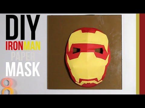 Iron Man Mask | DIY 3D Mask