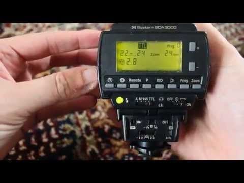 Flash - Metz 40 MZ-2 , System 3000 SCA and adapter 3101 M2 for Canon EOS