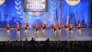 university of iowa dance team nationals jazz 2017