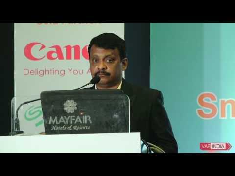 Deepak Sahu, Chief Editor, VARINDIA at 9th OITF 2017