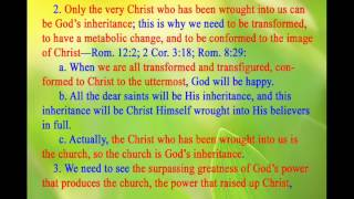 Bible: THe Heart of the Divine Revelation ( Ephesians - Paul