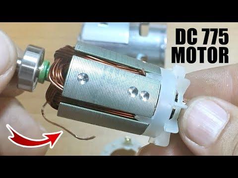 Kill the DC 775 Motor - :) - DC 775 motor bobin sardı!