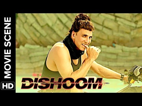 Akshay makes fun of John & Varun | Dishoom | Movie Scene