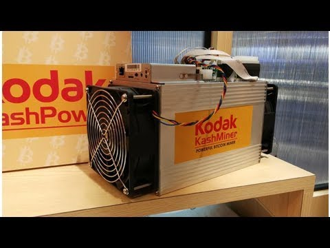 Kodak Bitcoin Miner On Display At Ces 2018