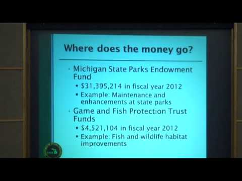 DEQ, DNR oil and gas meeting at MCC, May 1st, 2013, Part 1